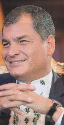 27 Rafael Correa