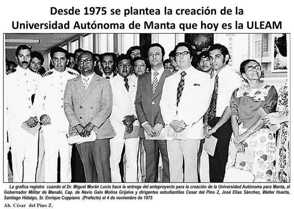 14 Manta 1975, U. Autonoma