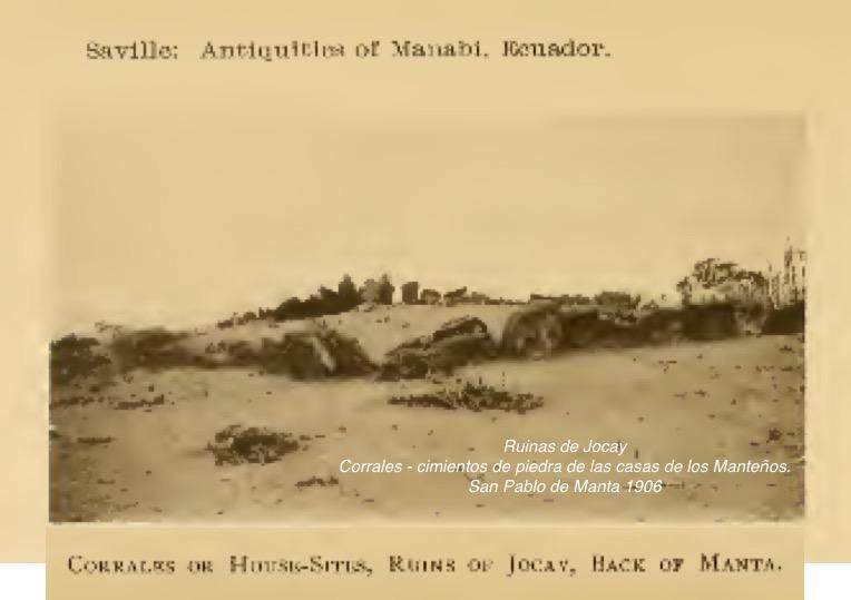Ruinas de Jocay - Manta 1906