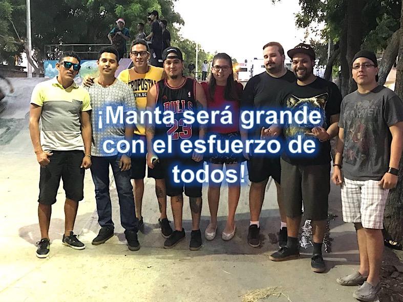 00 Manta y stakeboarding
