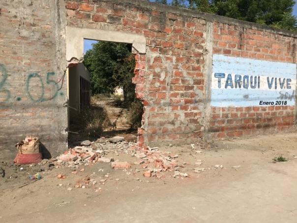 Tarqui vive en las ruinas