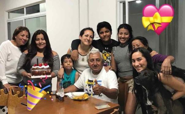 Ceviche y cumpleaños