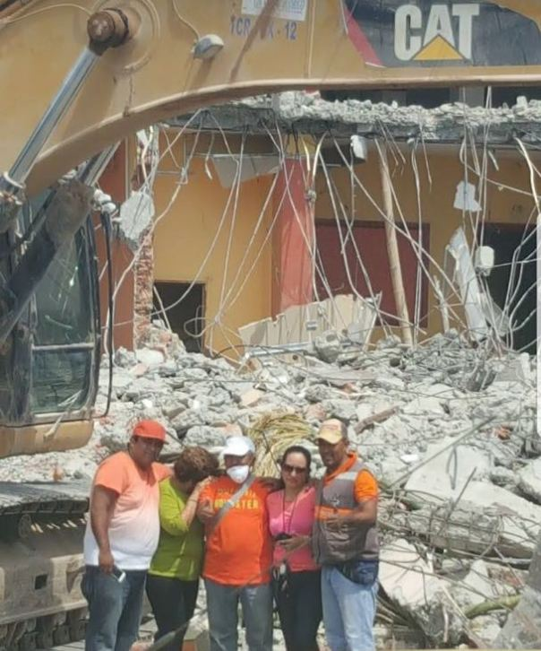 0 Tohalli Center, destruido