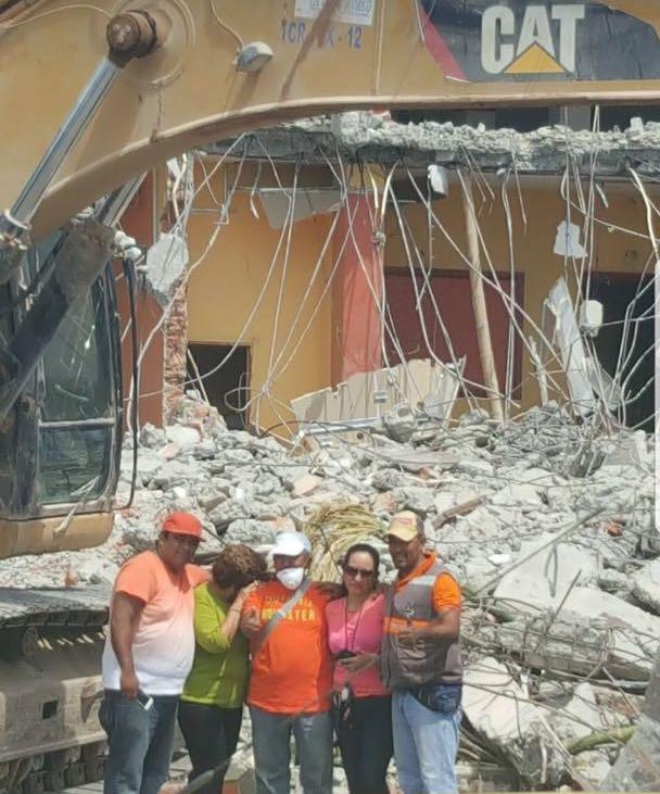 0 Tohalli Center, destruido