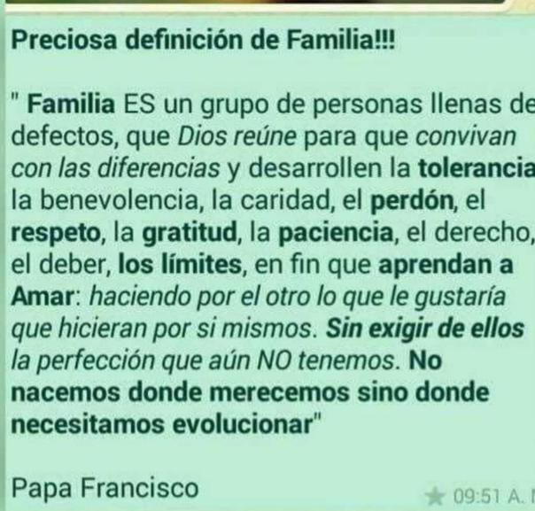00 Familia, definición