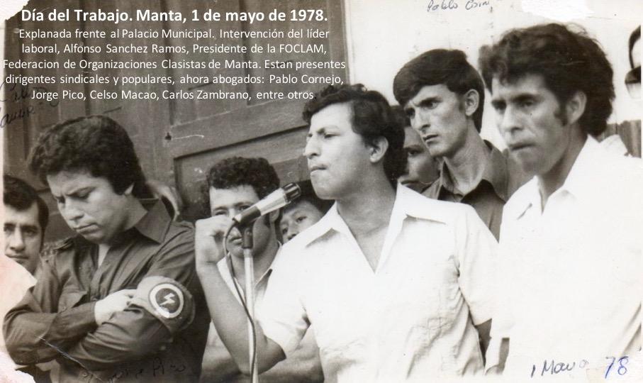 Alfonso Sanchez, 1978.