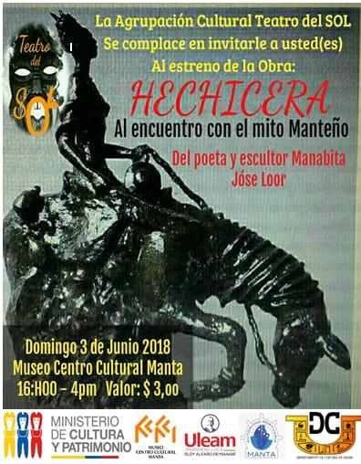 01 Hechicera, obra de José Loor