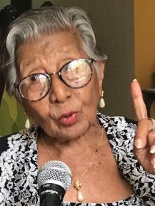 Sra Olinda Orbelisa Ortega Murillo, 101 años