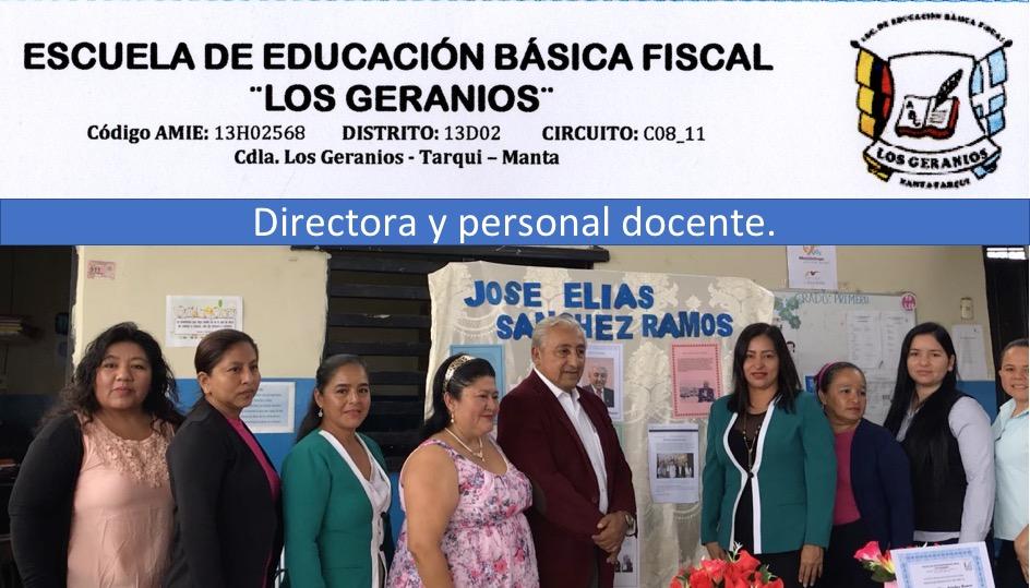 13 Directora y profesoras