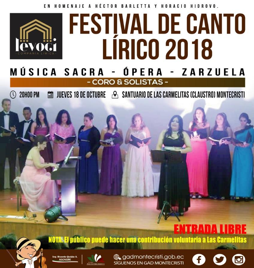 1.1 Festival Canto Lirico